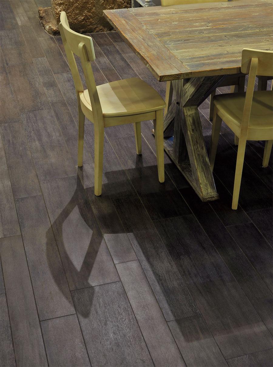 Piastrella a effetto legno / da esterno / per pavimento / in gres ...