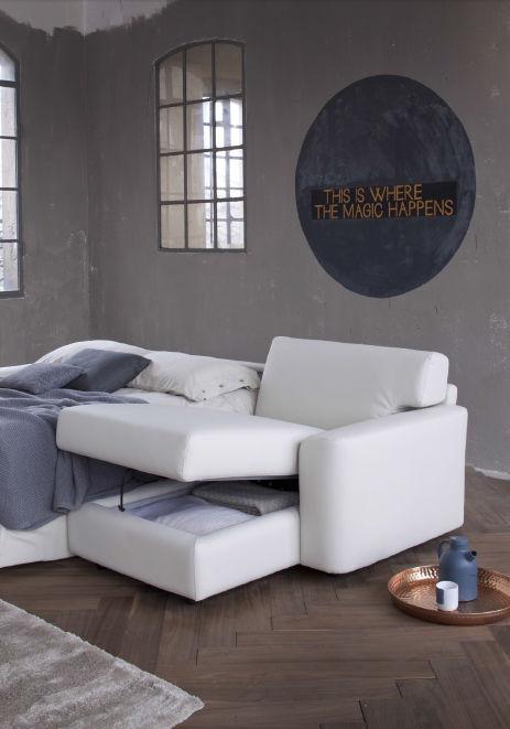 Divano letto / moderno / in tessuto / 2 posti - DAVIS - Doimo Sofas