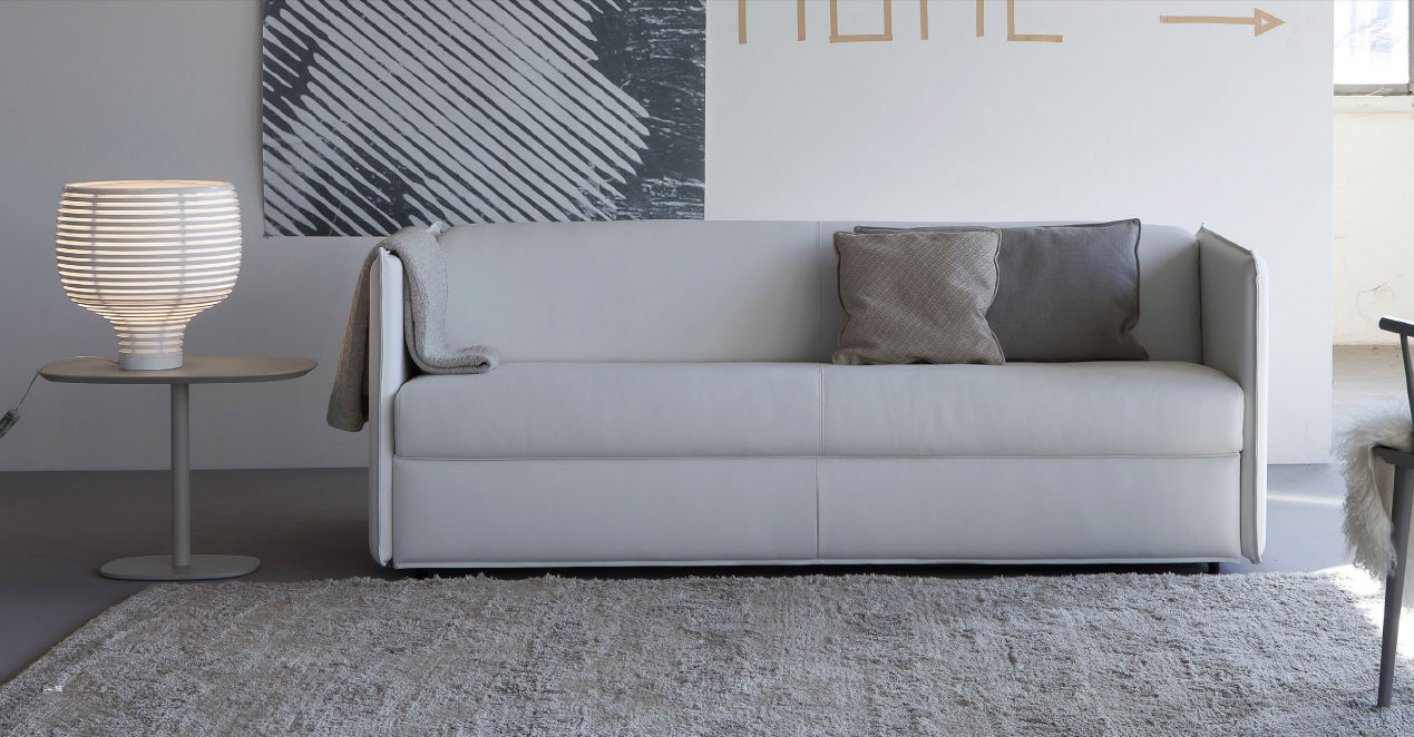 Divano letto / moderno / in tessuto / 2 posti - COOPER - Doimo Sofas