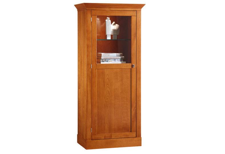 Credenza Con Alzata Classica : Credenza con alzata classica in vetro legno sophia
