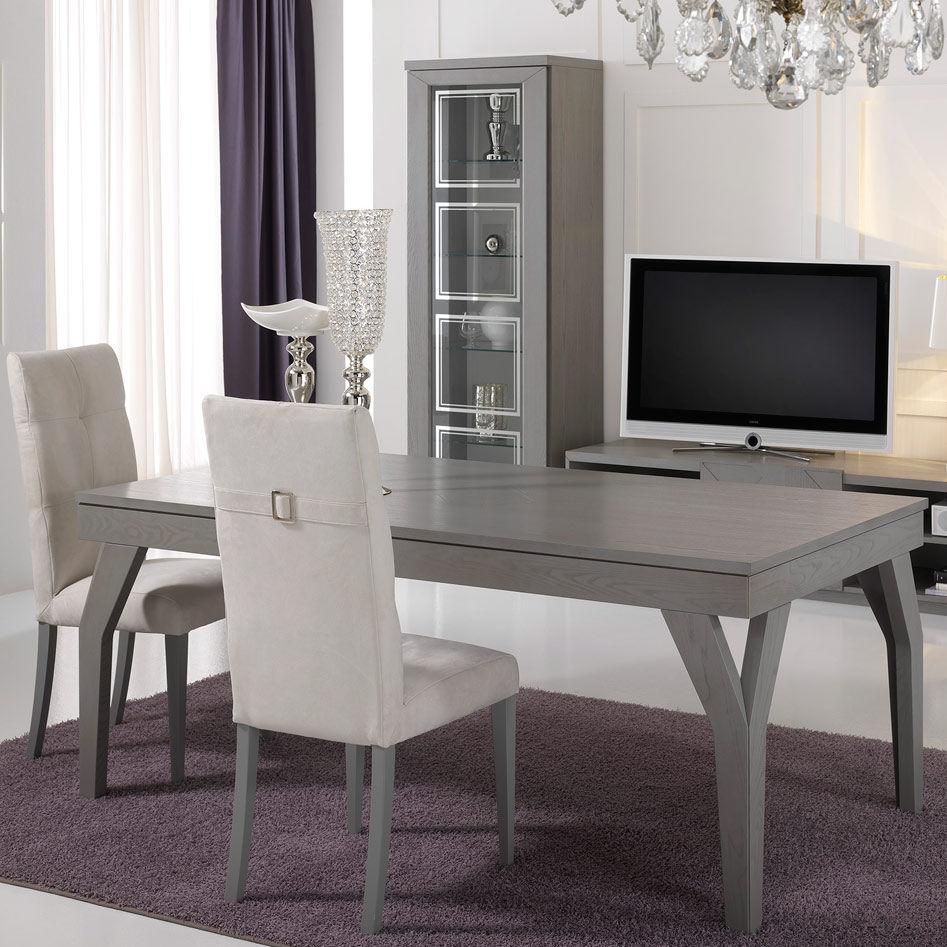 Tavolo da pranzo moderno / in legno - KUBIK - Stilema