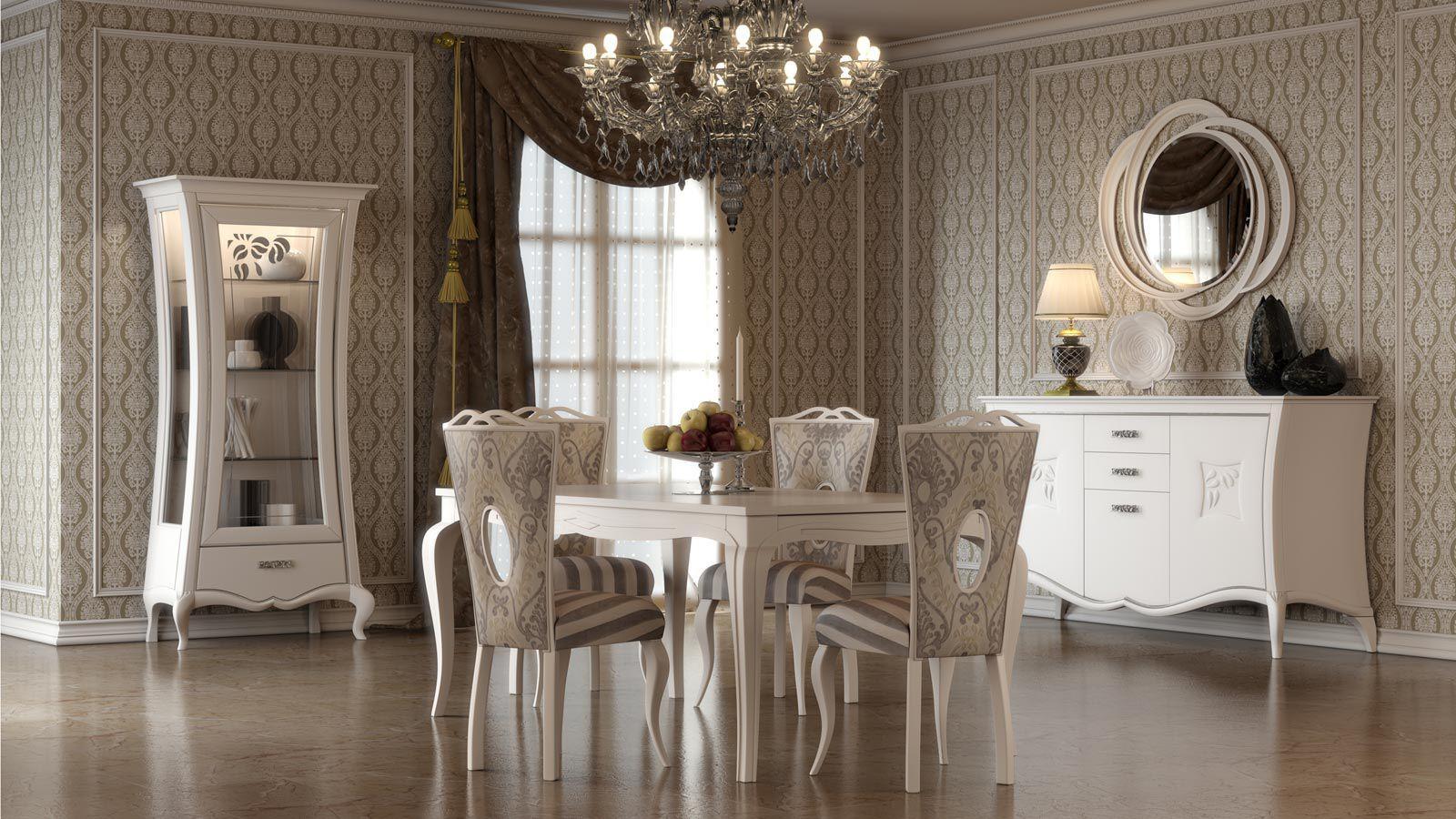 Sala da pranzo classica : sala da pranzo classica contemporanea ...