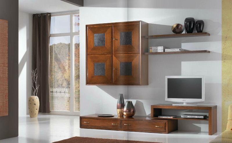 Parete attrezzata per soggiorno moderna / in legno laccato - FOUR ...