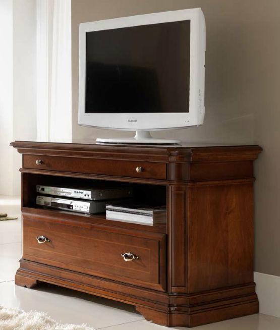 Mobile porta TV classico / in legno - MARGOT - Stilema