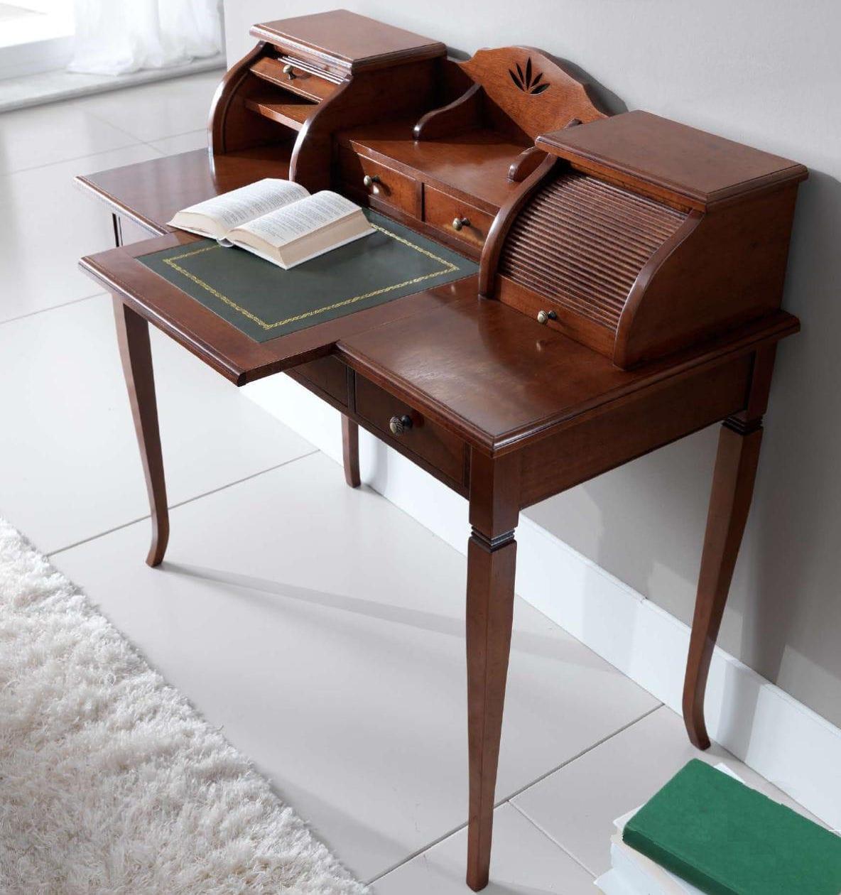 Scrittoio classico / in legno / con vano contenitore - MARGOT - Stilema