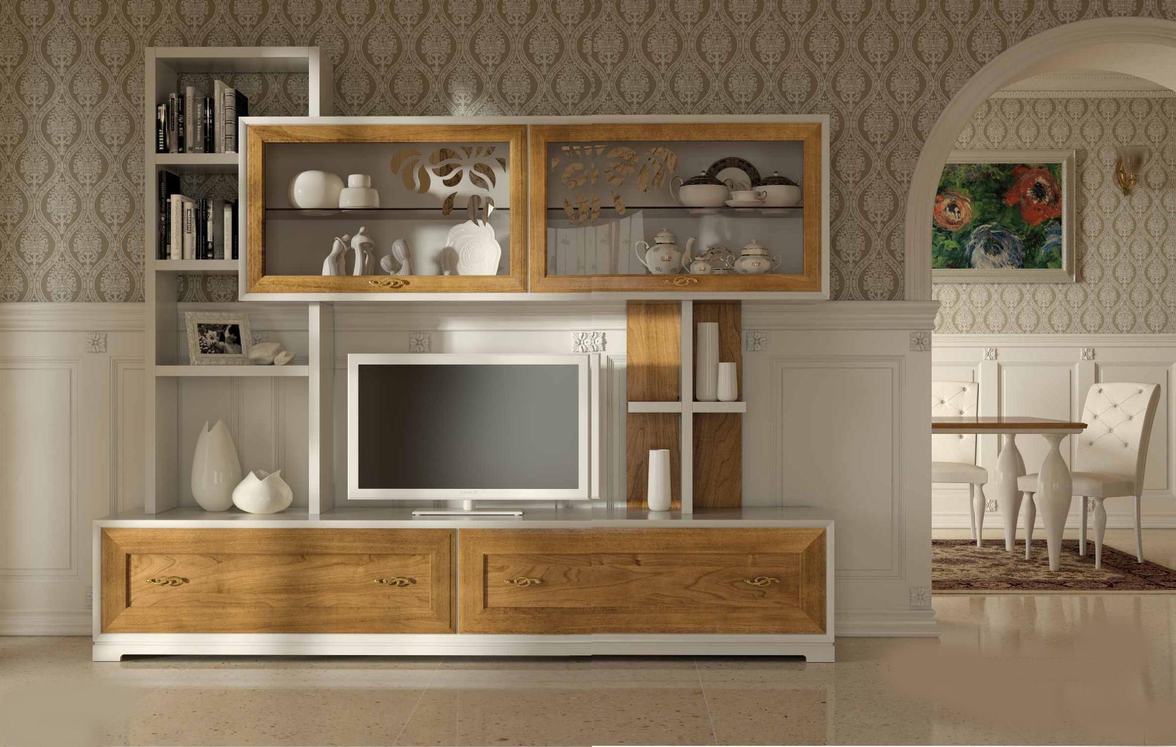 Soggiorno in legno moderno : soggiorno moderno legno massello ...