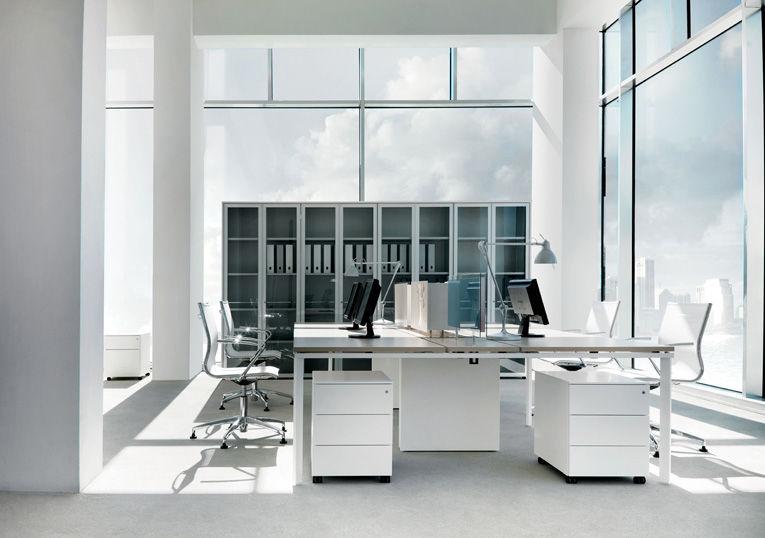 Mobili Per Ufficio Della Rovere : Libreria alta moderna professionale per ufficio be by