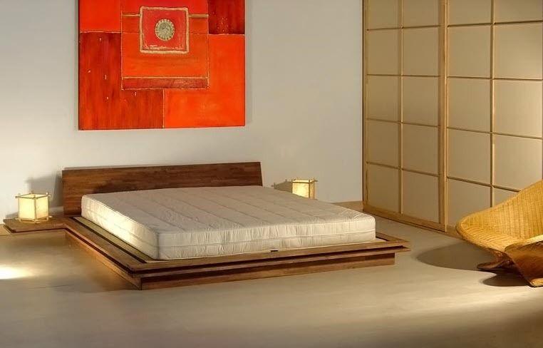 Letto standard / matrimoniale / moderno / in legno - TOKI - Cinius