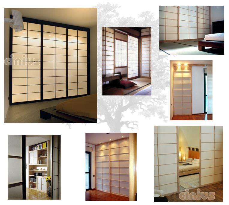 Parete scorrevole / in legno / ad uso professionale   parete shoji ...