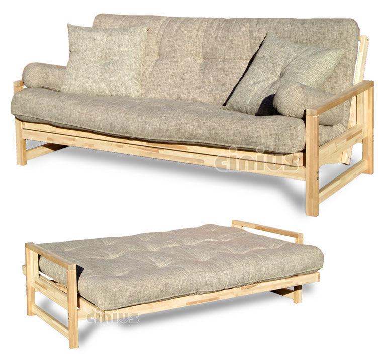 Divano letto / moderno / legno / 3 posti - Cinius