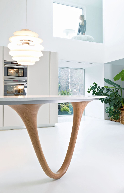 Cucina moderna / in legno / con isola / laccata - OLA 20 by ...