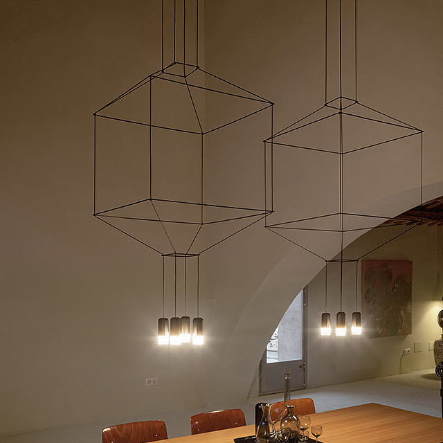 A Lampada Alluminio Design Originale In Sospensione Acciaio SVqMpUz