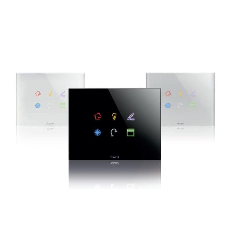 Tastiera Di Controllo Per Sistema Domotico / A Muro / KNX   ICE TOUCH