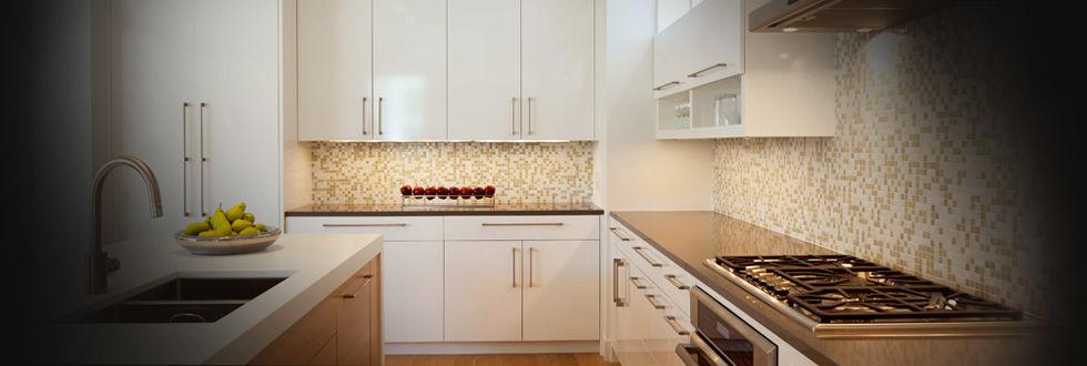 Mosaico da interno / da cucina / da pavimento / in vetro - VITREO ...
