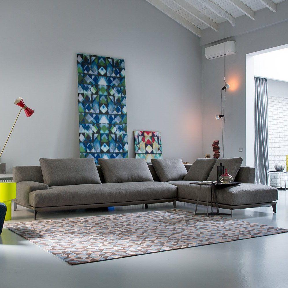 Divano modulare / moderno / in tessuto / 3 posti - RONNY by Castello ...