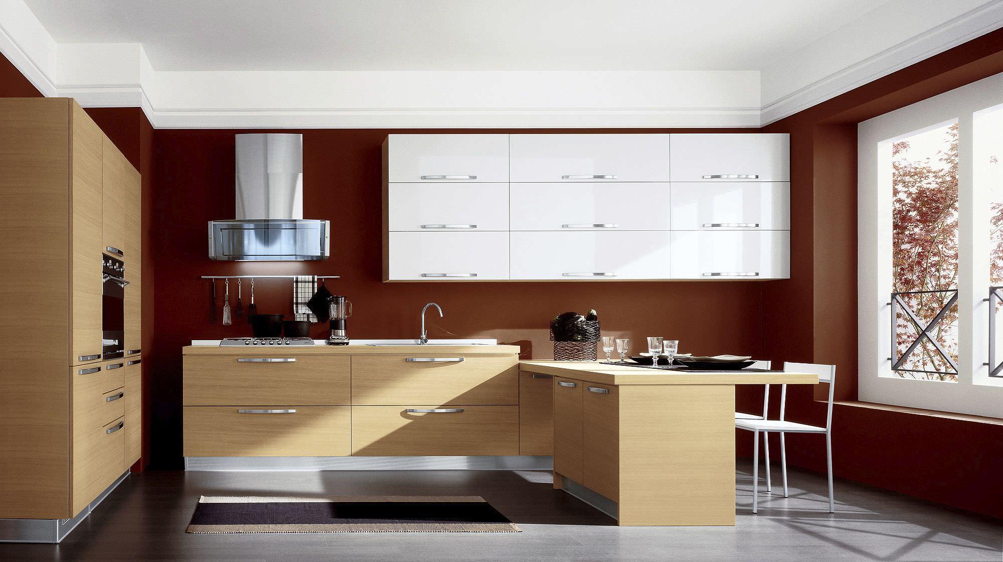 Cucina moderna / in legno massiccio / in legno - EXTRA FASHION ...