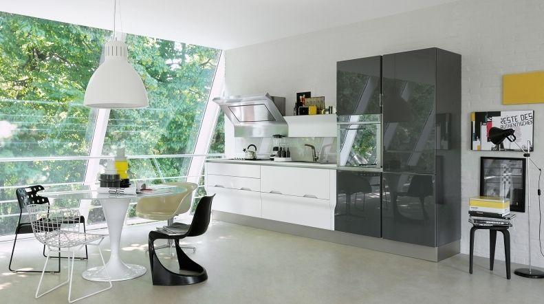 Cucina moderna / in laminato - TULIPANO CALICE - VENETA CUCINE