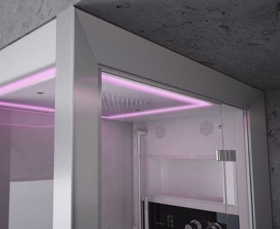Cabine Doccia Jacuzzi : Box doccia multifunzione con idromassaggio in vetro