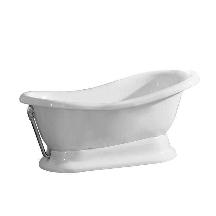 Vasca da bagno da appoggio / ovale / in ceramica - NE01400001 ...