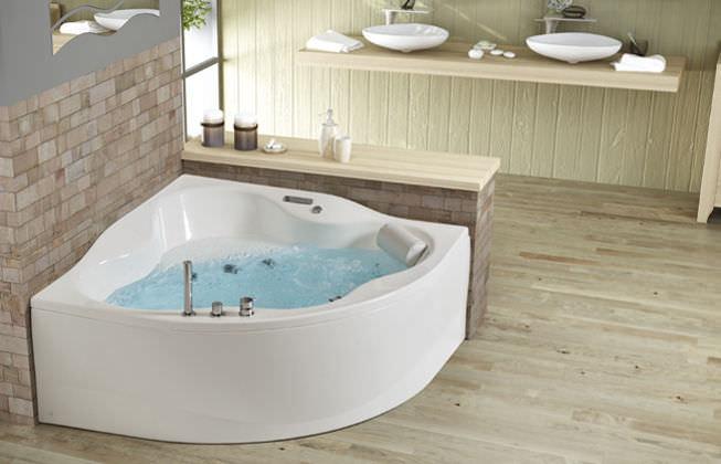 Vasca Da Bagno Grandform : Vasca da bagno da incasso d angolo in bio composito
