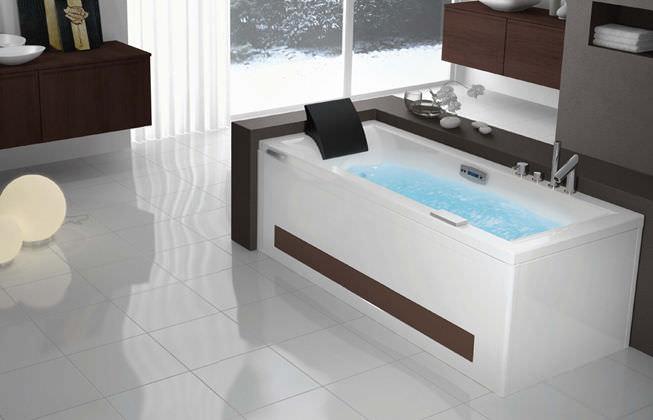 Vasca Da Bagno Del Tempo : Vasca da bagno da incasso in bio composito idromassaggio tempo