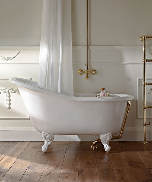 Vasca da bagno su piedi / ovale / in acrilico / in ghisa - BALNEA ...