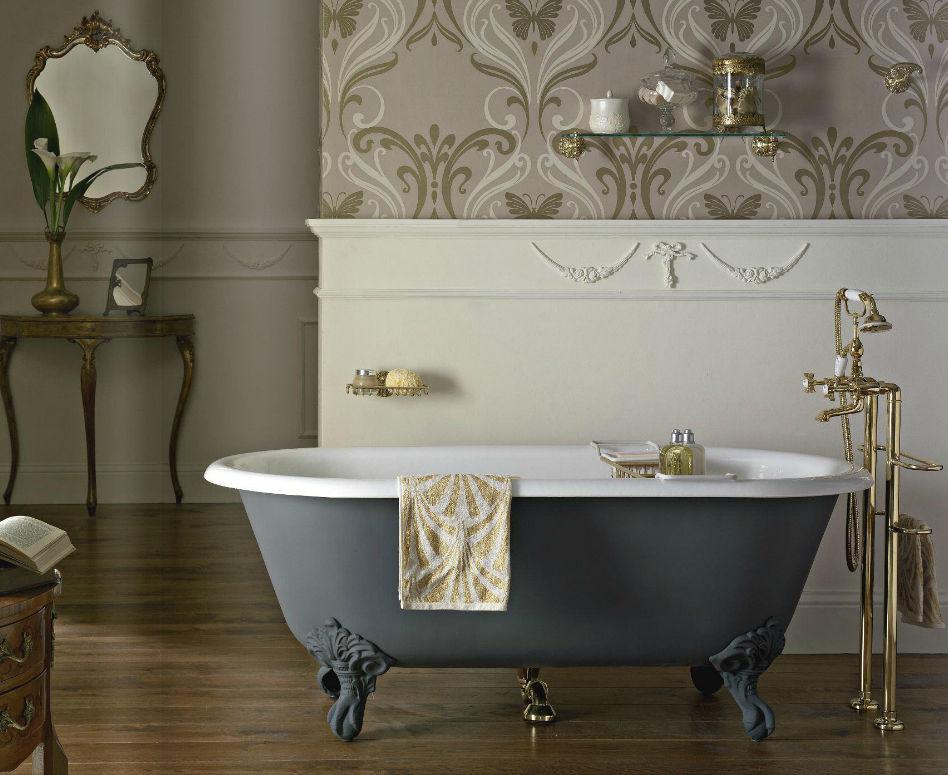 Vasca Da Bagno Piedini : Vasca da bagno su piedi ovale in acrilico in ghisa balnea