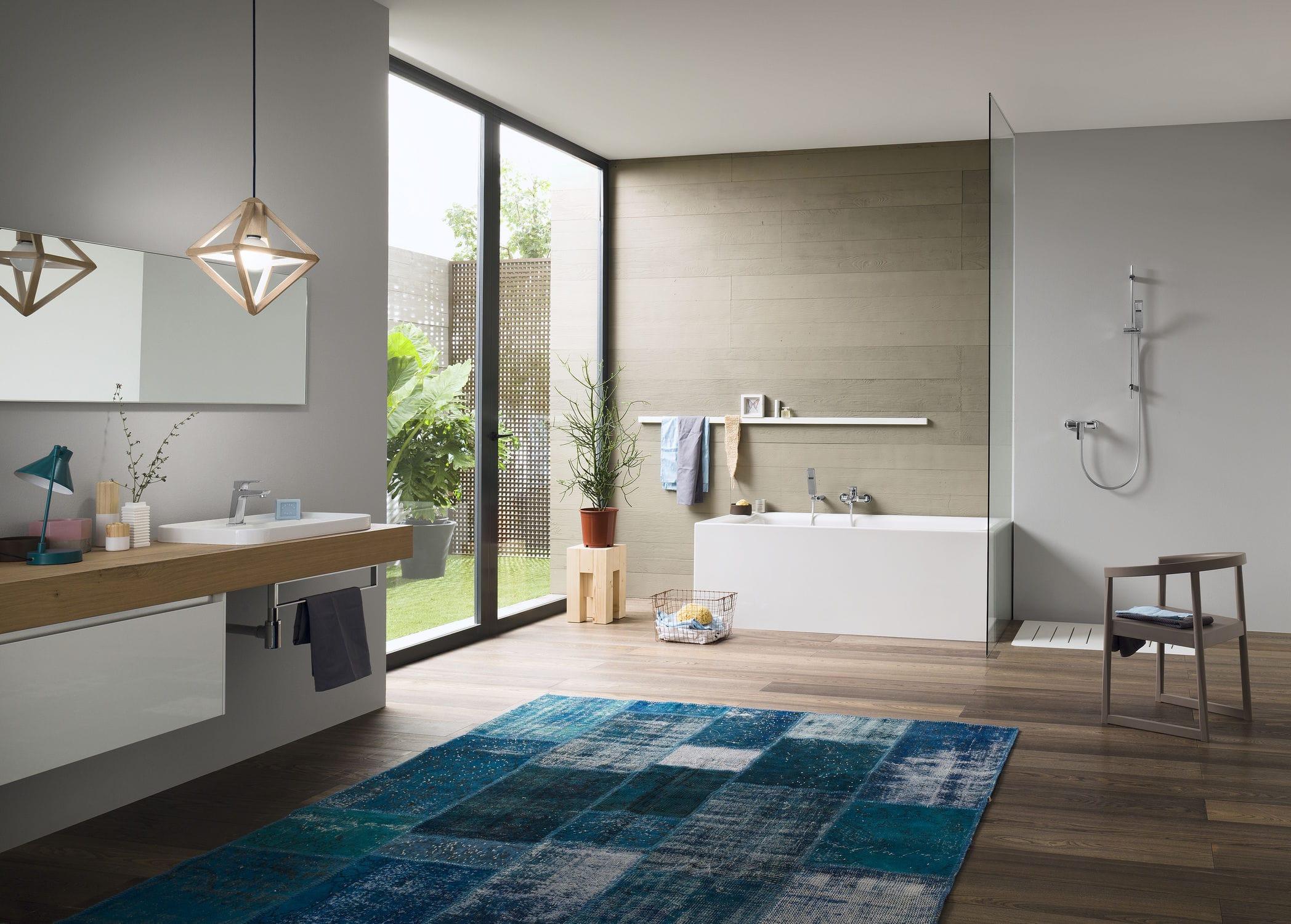 Vasca Da Bagno Qube : Miscelatore per vasca da parete in ottone cromato da bagno