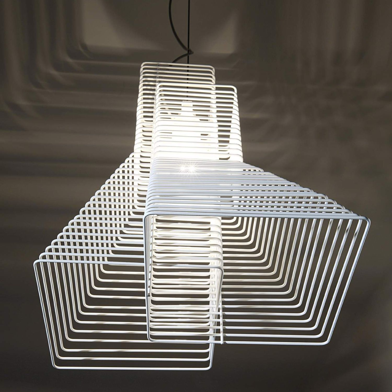 Lampada a sospensione / design originale / in ferro / alogena ...