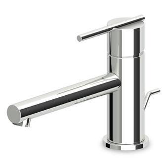 Miscelatore per lavabo / in metallo cromato / da bagno / 1 foro ...