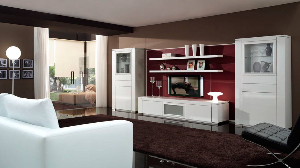 Beautiful Vetrine Per Soggiorni Moderni Contemporary - House Design ...
