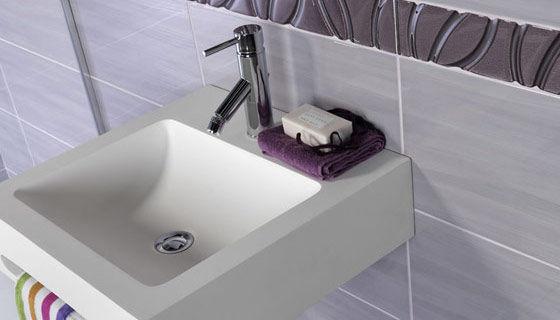 Piastrella da interno da bagno da parete in ceramica wave