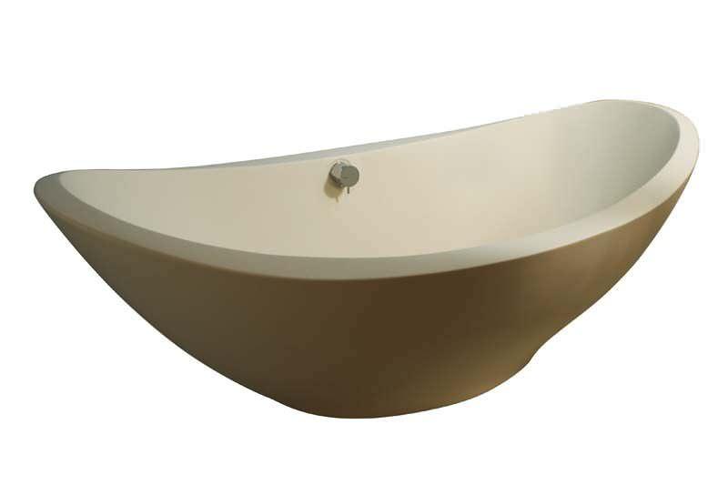 Vasca Da Bagno Resina Prezzi : Vasca da bagno da appoggio ovale in resina lavasca by matteo