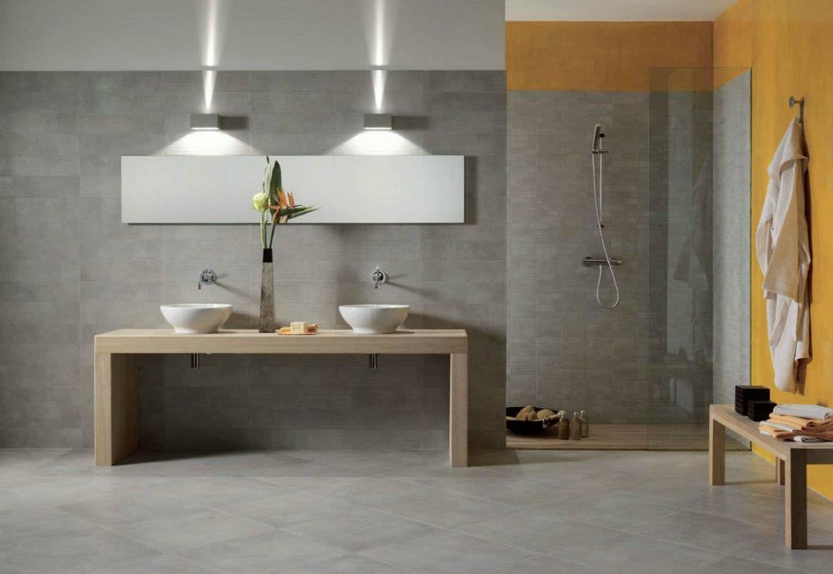Bagno Moderno Bianco E Nero.Bagno Moderno Bianco E Legno