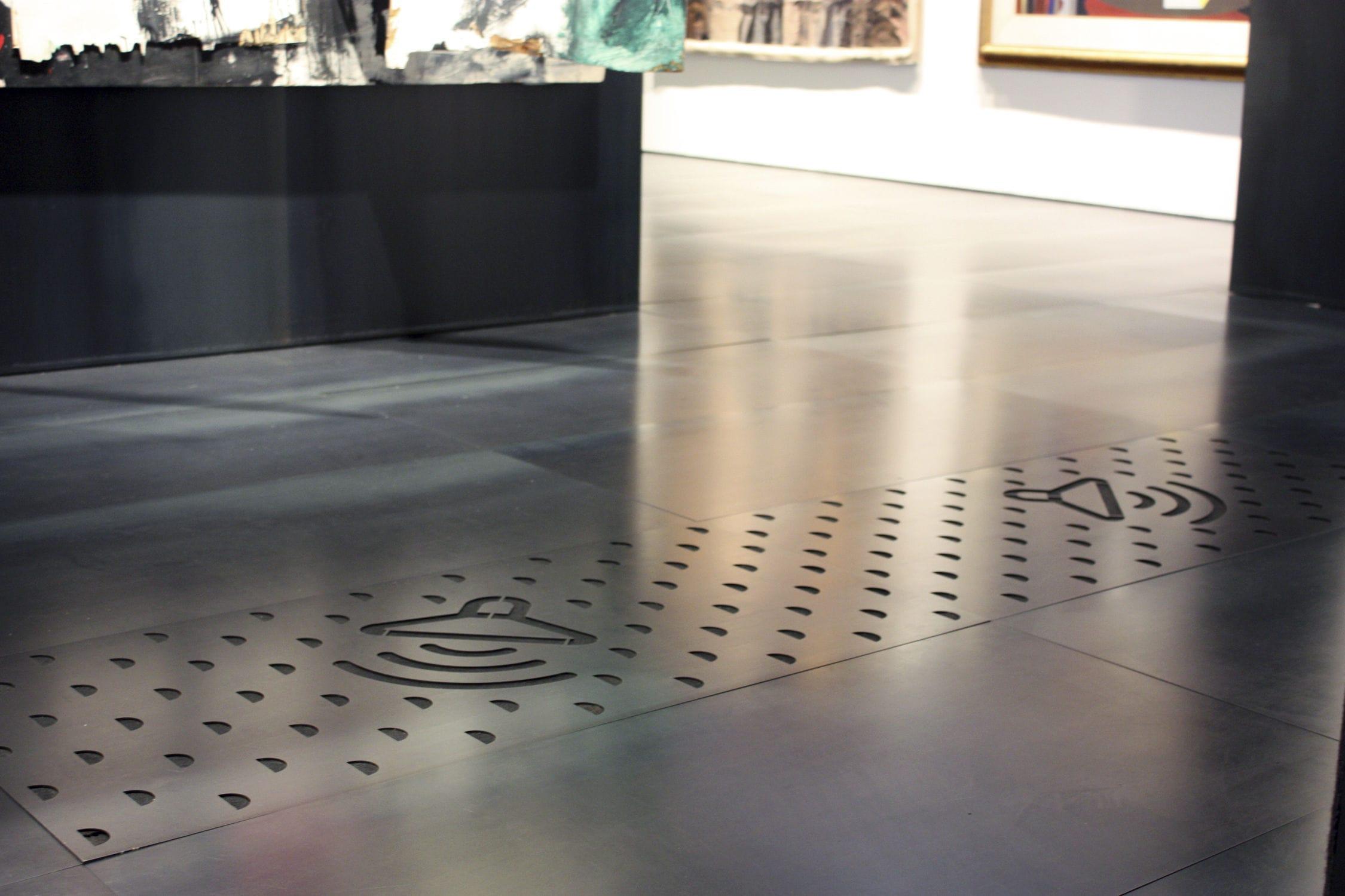 Piastrella da interno da parete da pavimento in metallo