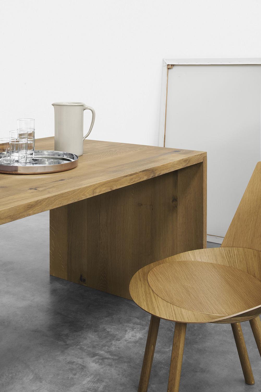 Tavolo moderno / in quercia / in noce / in legno massiccio - TA01 ...