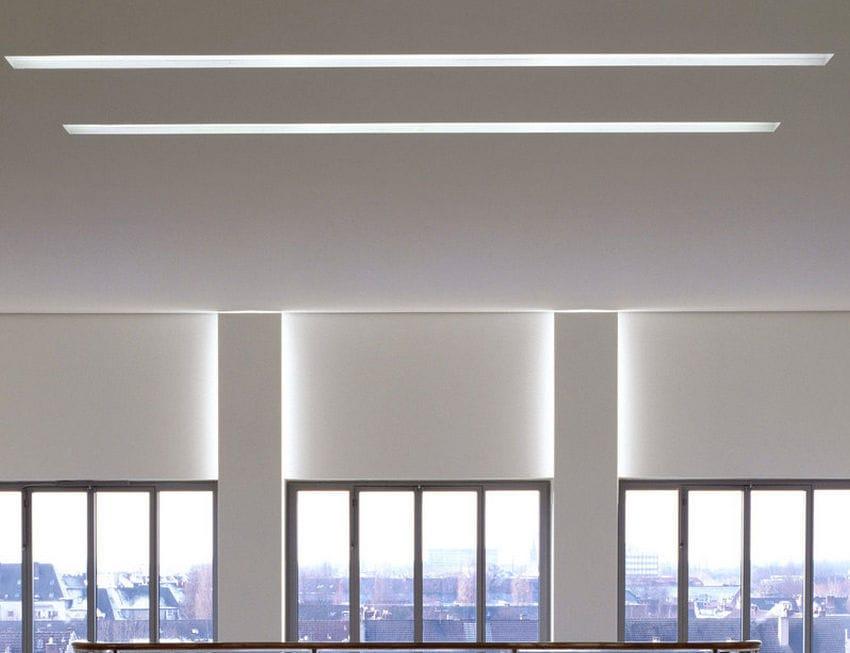 Luce Da Incasso A Soffitto / A Lampada Fluorescente / LED / Lineare   M150,  M100
