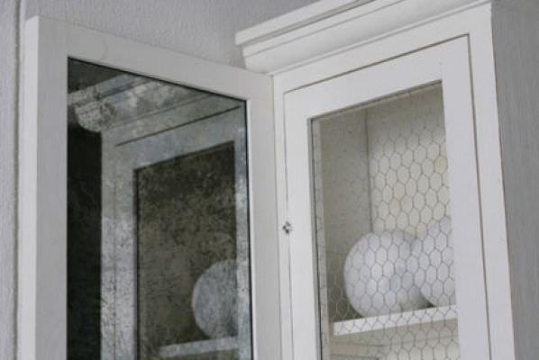 Credenza Con Retina : Credenza con alzata classica in legno fa by paola navone