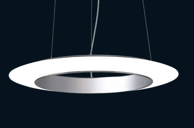 Plafoniere Led Moderne Design : Lampada a sospensione design originale in vetro led ring