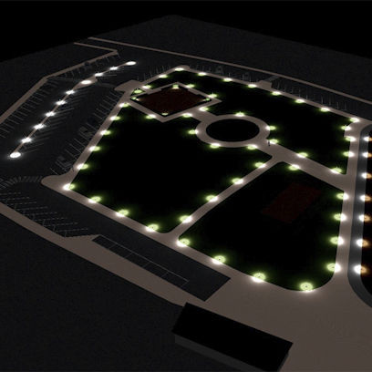 Schema Elettrico Per Domotica : Software di gestione luci per impianto domotico per