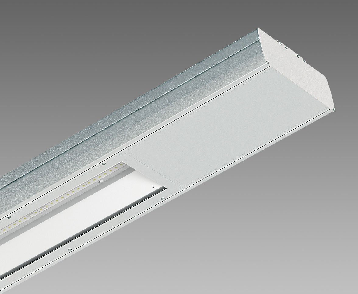 Plafoniere A Led Ip65 Disano : Luce a sospensione led lineare in alluminio estruso cometa