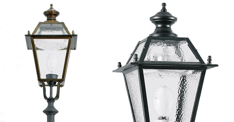 Aec Illuminazione Lanterna Firenze : Lampione urbano classico in acciaio galvanizzato led siena