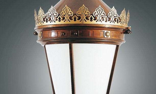 Aec Illuminazione Lanterna Firenze : Lampione urbano classico in ghisa in acciaio galvanizzato