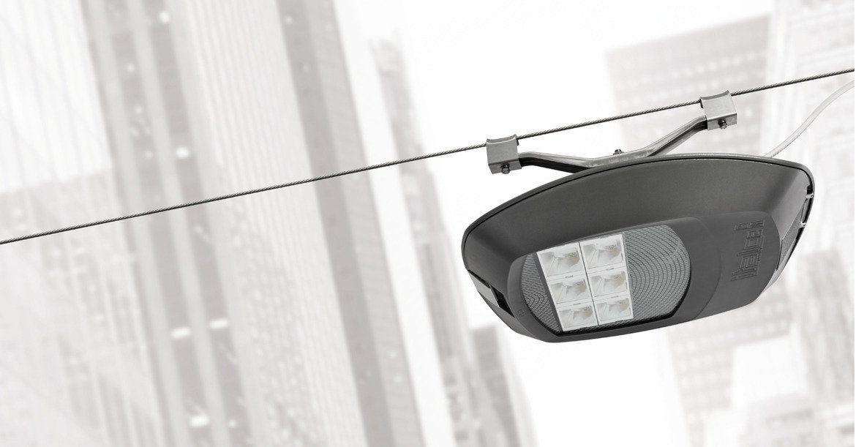 Illuminazione su cavi led altre forme in ghisa di alluminio