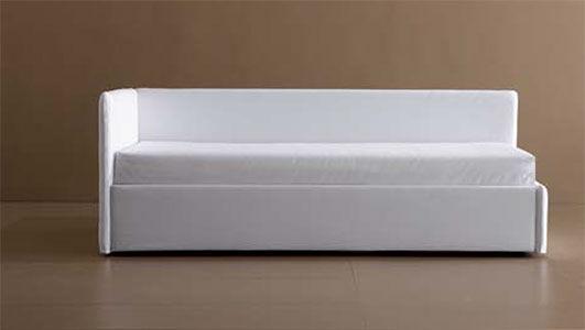 Divano letto / moderno / in tessuto / 2 posti - BEACH - FRAU FLEX
