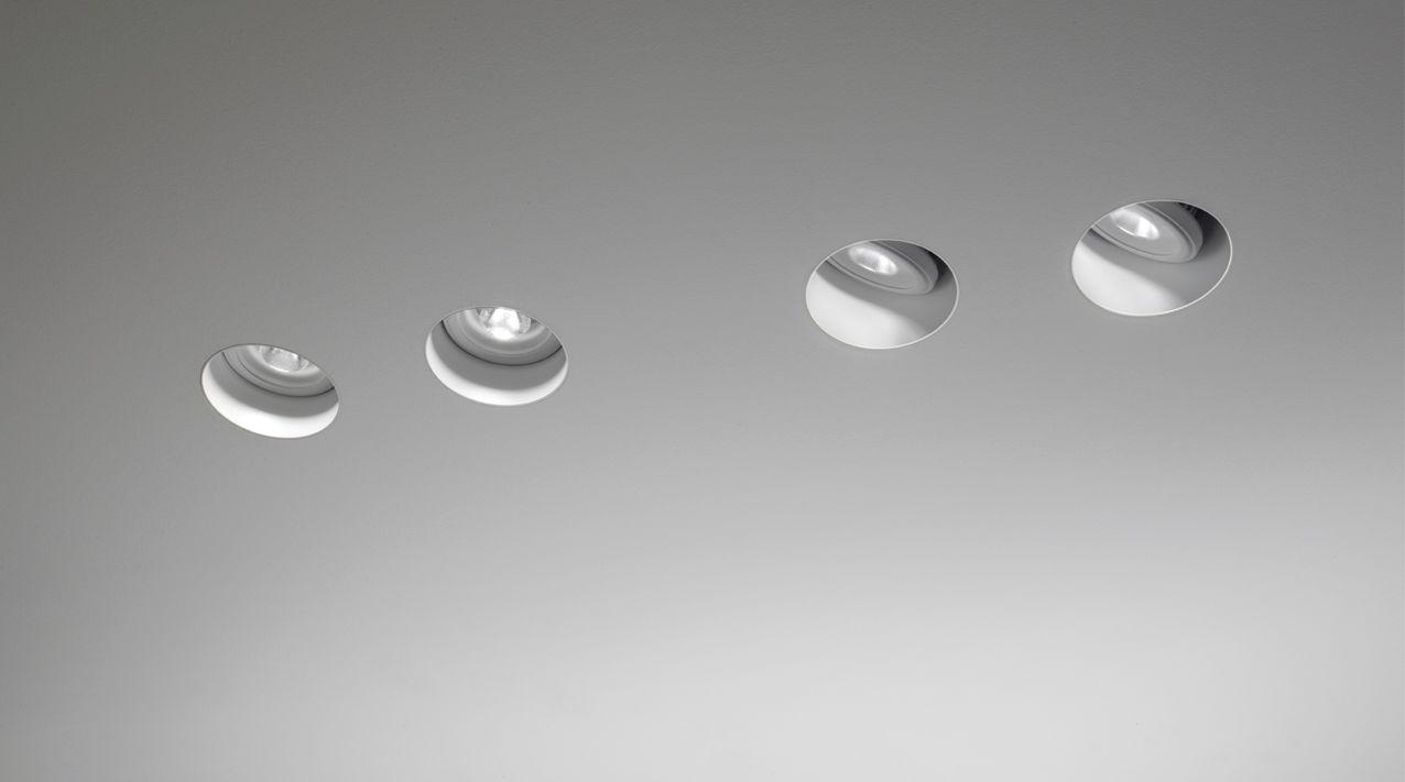 Faretti Led Da Soffitto : Faretto da incasso a soffitto interno led alogeno pop 01