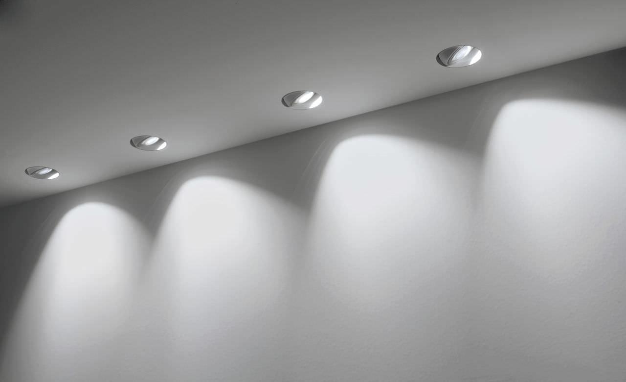 Faretti Led Da Incasso Soffitto : Faretto da incasso a soffitto interno led tondo wally 01