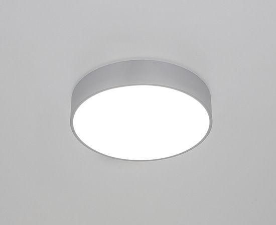 Plafoniera Muro Led : Plafoniera moderna tonda in alluminio led bado molto luce