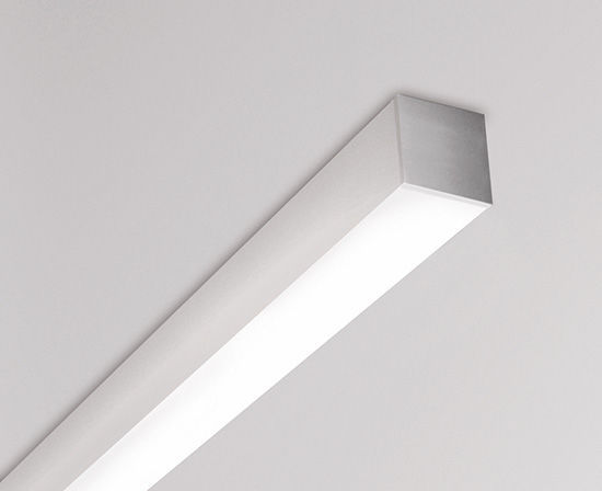 Profilo luminoso a soffitto led dimmerabile sistema d
