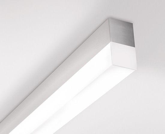 Profilo luminoso a soffitto led dimmerabile sistema d